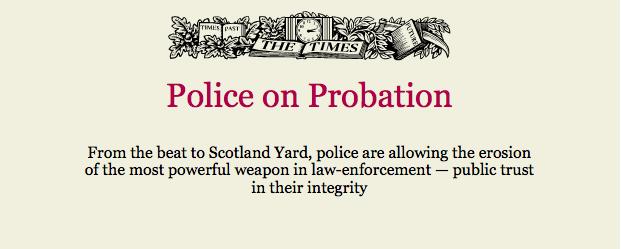 Police on Probation
