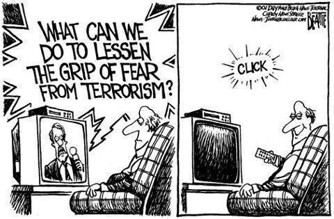The fear of terrorism!?