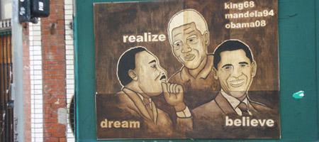 King, Mandela & Obama