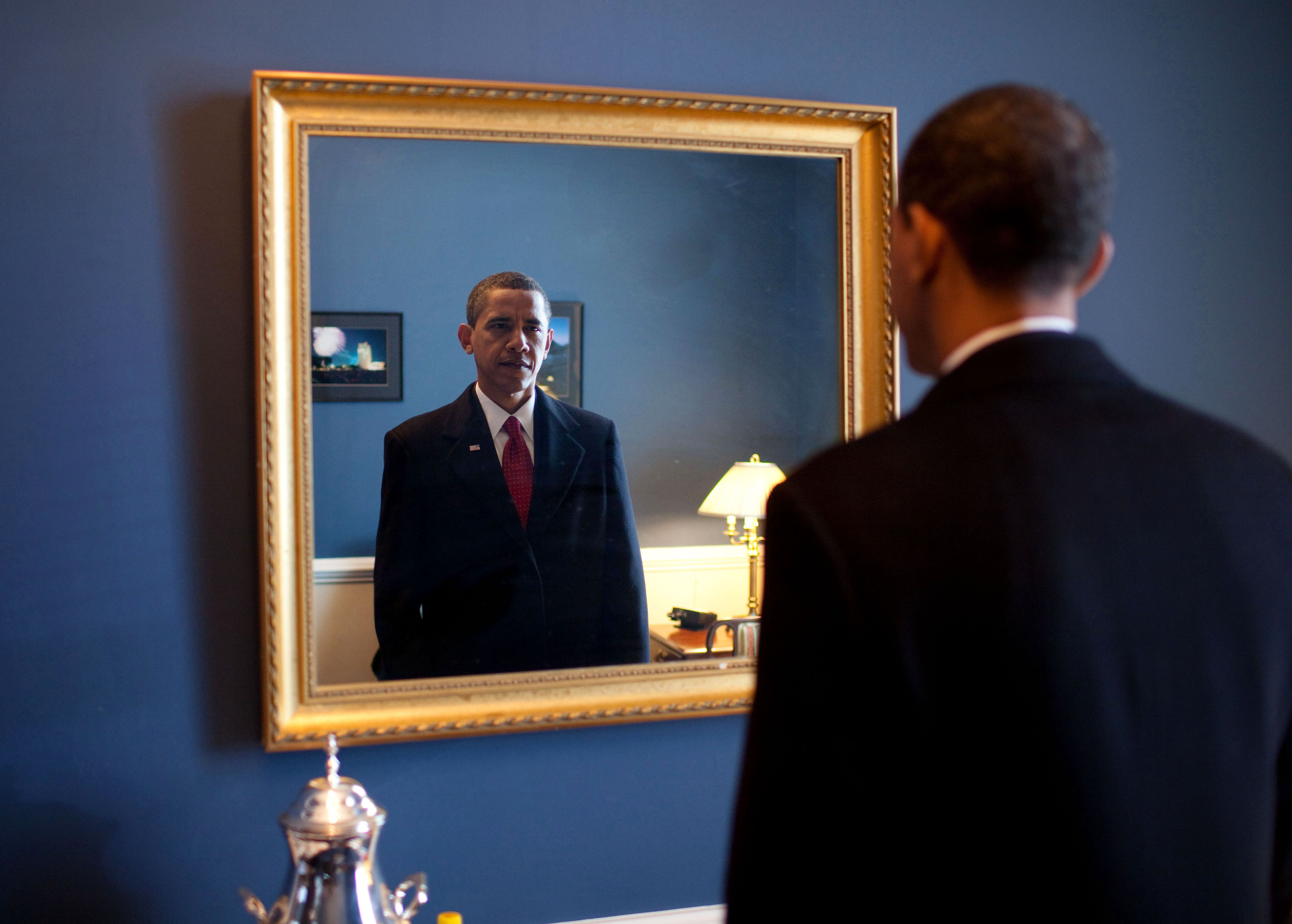 Barack Obama Mirror