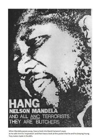 Hang Nelson Mandela