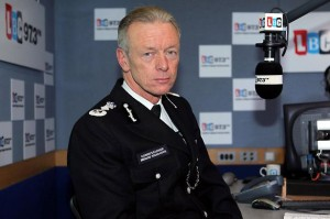 Sir Bernard Hogan-Howe, Commissioner of the Metropolitan Police