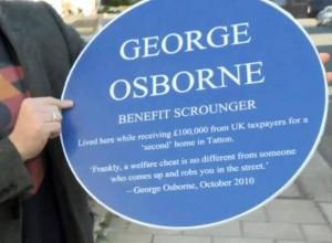 George Osborne - Benefit Scrounger?