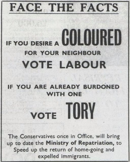 1964 Tory Campaign Poster