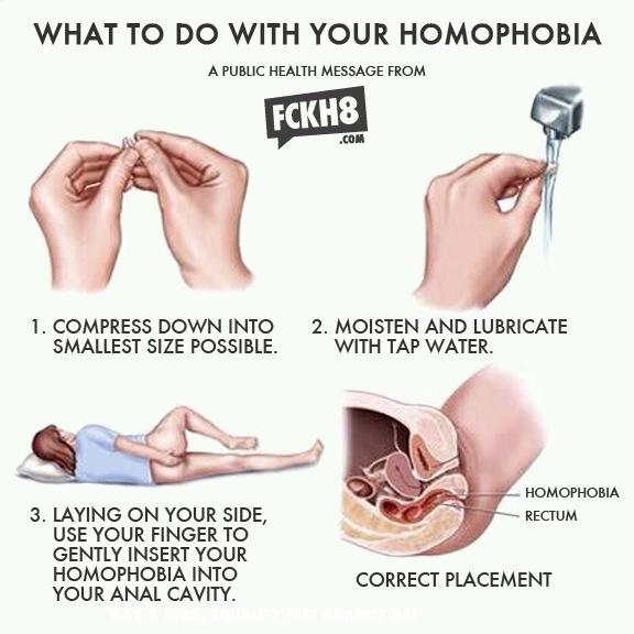 Homophobia Public Health Warning