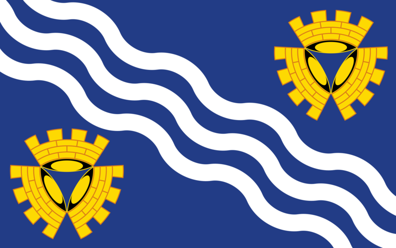 Merseyside County Flag