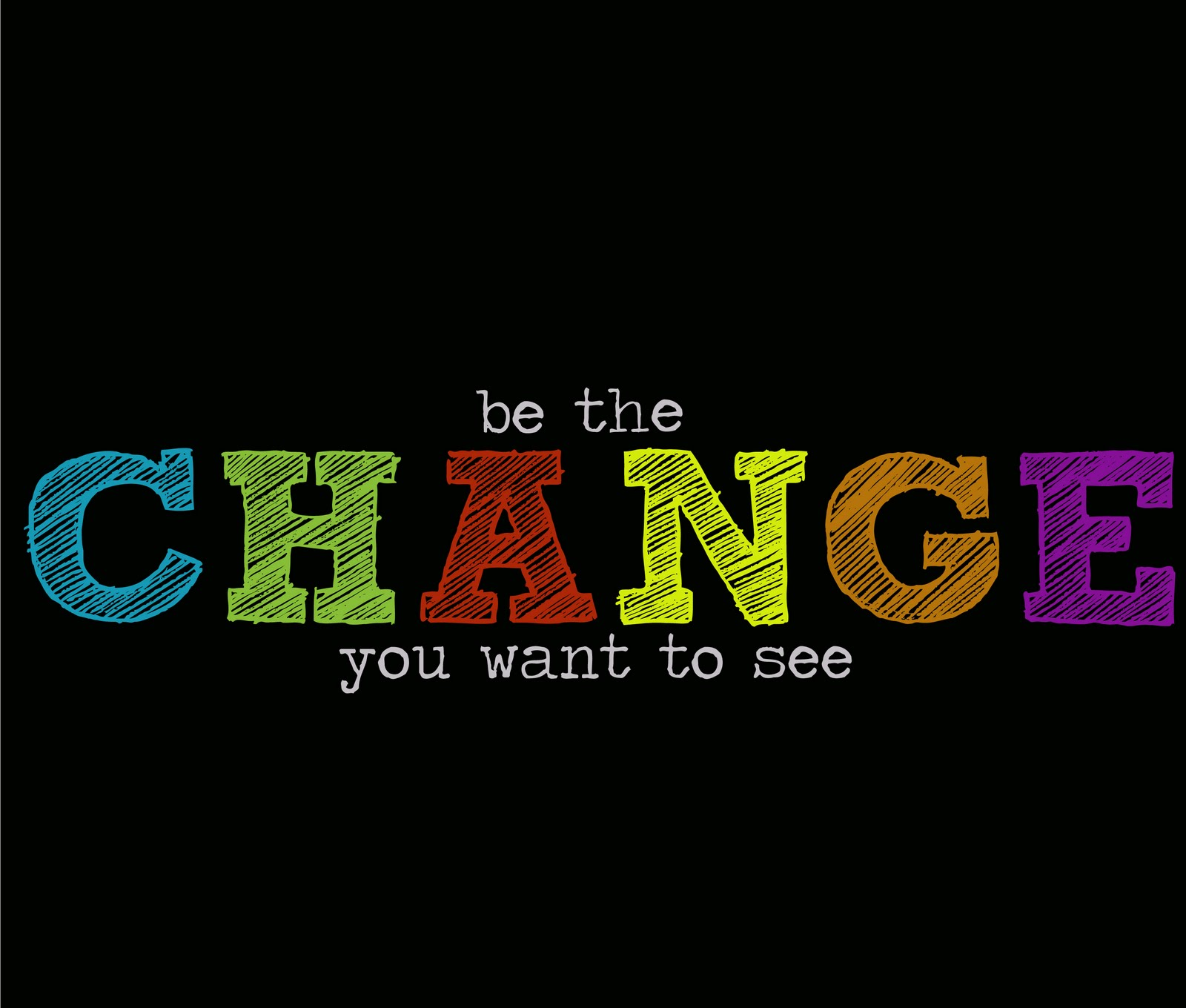 Be the change you want to see max news