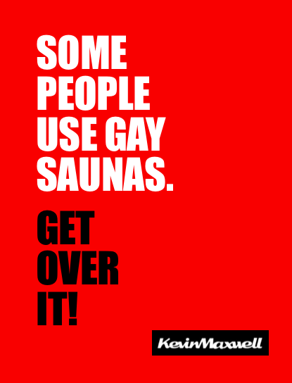 Some People Use Gay Saunas