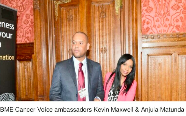 BME Cancer Voice Ambassadors